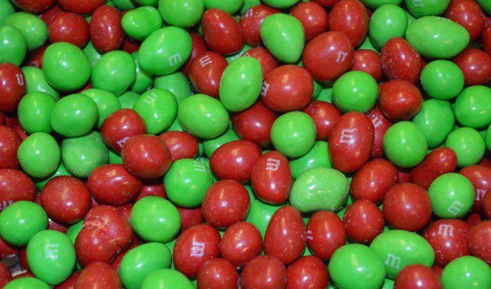 Christmas M M S Peanut Bulk 5 Lb Candy Favorites